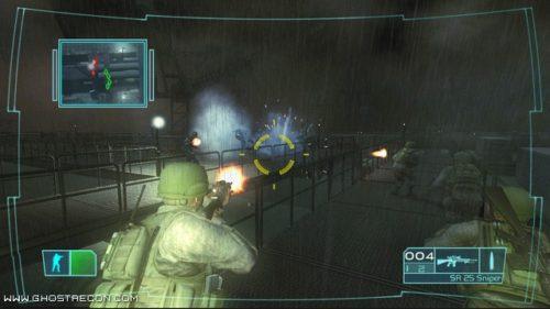 Ghost Recon Advanced Warfighter on Xbox 360 screenshot