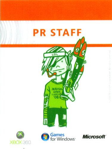 E3 2006 - Xbox pre-E3 event PR Staff pass