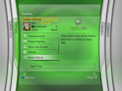Xbox 360 Spring Update 2006 Games blade screenshot