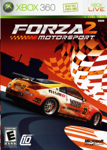 Forza Motorsport 2 box cover art