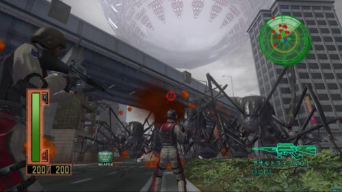 Earth Defense Force X screenshot