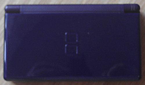 Nintendo DS Lite exterior in enamel navy