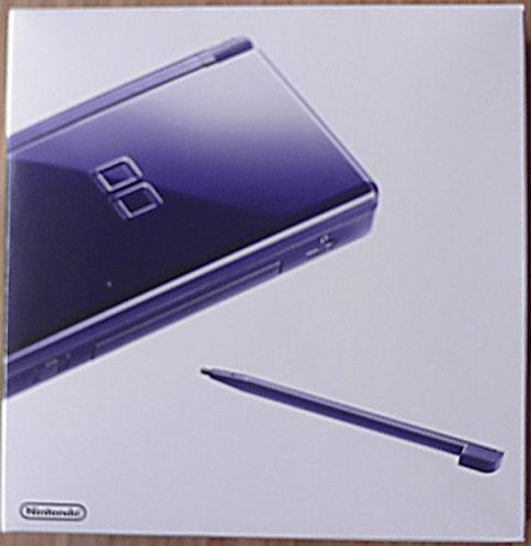 Nintendo DS Lite in enamel navy box