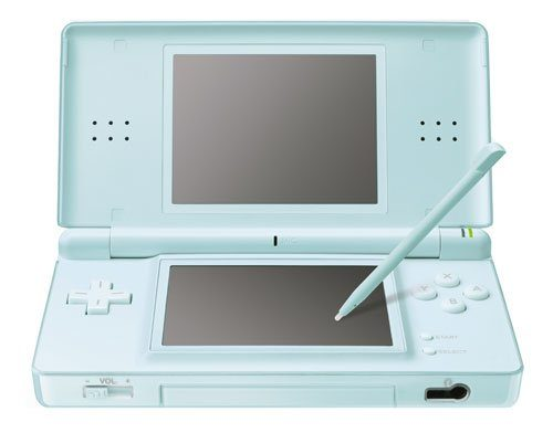 Nintendo DS Lite in ice blue